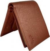 Mens  Wallet In Brown Colour Available