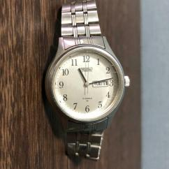 Wrist Watch With Chain Strap