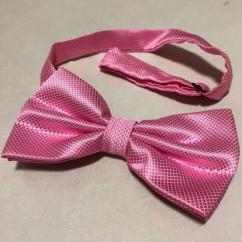 Pink In Color Bow Tie Available