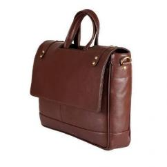 Office Bag In Brown Colour Available