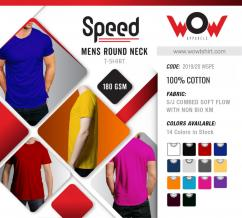 Round Neck T-shirts with or without print