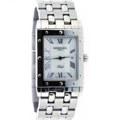 Gents Watch With Silver Chain Available