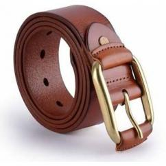 Gents Leather Belt In Brown Colour
