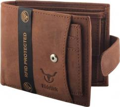 Gents wallet in Brown Color Available