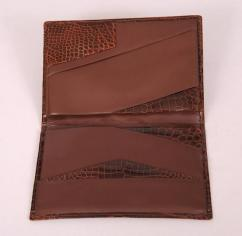 Gents Wallet in Brown leather
