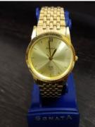 Sonata Golden Watch