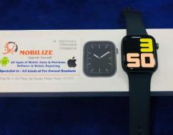 used Apple Watch Series 5 Black 44MM (Only GPS) Under Warranty Till oct-20