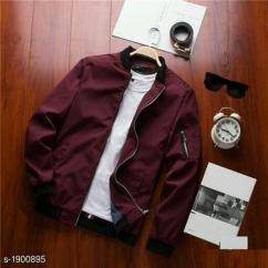 Elegant Mens Polyester Jackets