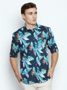 Mens Casual Printed Full Sleeves Slim Fit Cotton Shirts