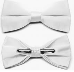 Branded bow ties for men