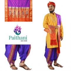 Exclusively Handloom Paithani on Rent