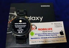 Galaxy Watch Silver  46 MM  In Clean Condition