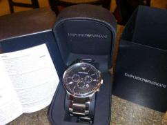 8 months old Armani watch