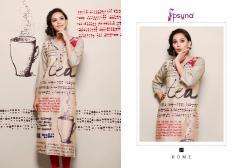 psyna rome vol2 cotton digital printed kurtis catalog at wholesale