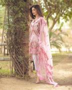 elegant naara premium lawn digital print with embroidery suits