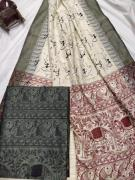 elegant Khadi cotton suits available in printed collection