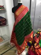 elegant Pure ikkat silk dupatta available in new collection