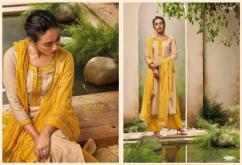 elegant ganga full of grace cotton embroidered suits