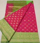 banaras handloom kora silk sarees with running blouse