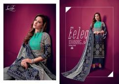 elegant levisha zareen pure pashmina jaquard bandhni printed suits