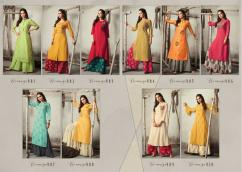 s4u womaniya vol9 kurtis and plazo set catalog at wholesale