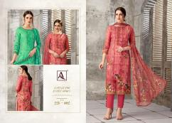 elegant alok kaashvi pure viscose pashmina aari work suits available