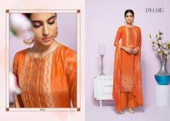 elegant jinaam amyra digital printed viscose upada silk suits
