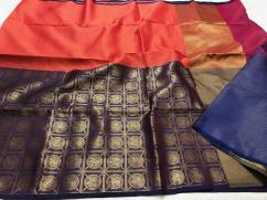 Banaras light weight muslin kora weaving sarees in new designs available