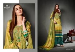 elegant cotton satin digital print with embroidery  relssa suhani suits