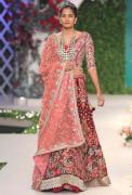 Designer Reception Lehengas, Sarees, Gowns - Aza Fashions