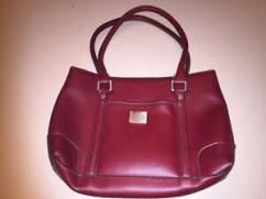 Ladies Bag In Red Color Available