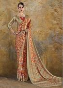 Buy pure Crepe sarees online from Mirraw at best prices
