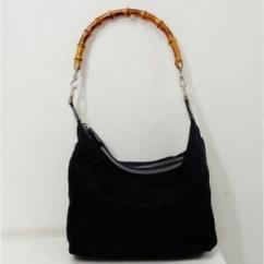 Black In Color Handbag Available