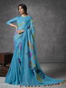 Buy Handwoven Linen Sarees Online At Mirraw