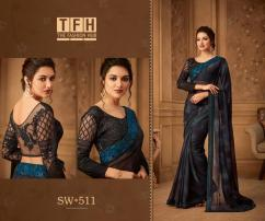 TFH sandalwood vol5 sarees catalog at wholesale and singles