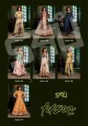 s4u fusion 2019 designer kurtis catalog at wholesale and singles  fabric- fancy