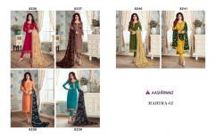 aashirwad mahira vol2 catalog at wholesale and singles  georgette semi stitched
