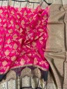 Designer Antique Organza Sarees With New Designs .. Contrast Pallu And Blouse170