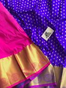 kanchi pure silk pattu lengas lenga 3 mts blouse 90cms