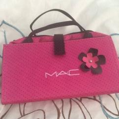 Branded Small Makeup Bag In Pink Color