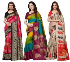 3 Combo Sarees Online At Mirraw With Best Discount Offer