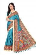 Latest Kalamkari Sarees Online At Mirraw that is fit for Every Budget