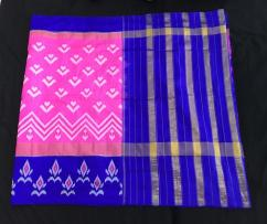 Latest ikkat silk sarees 6650