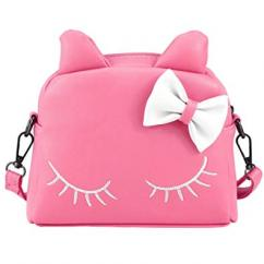 Pink Coloured Handbag For Girls