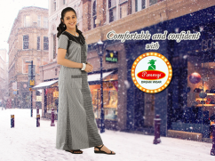 Buy Womens Branded Latest Night Dress & Quality Pure Cotton Nighty Online