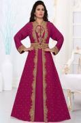 Explore Magenta Kaftans in various Styles at Mirraw Shopping
