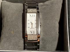 Wrist Watch With Golden Chain