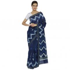 Go For Indigo Saree Designs For This Season