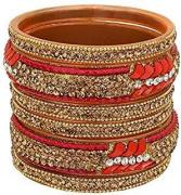 Bangles in red color available