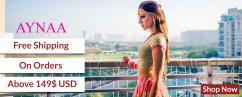 Exquisite Collection of Luxury Indian ethnic wear for Women and Men AynaaWorld